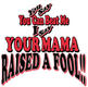 Pure Sport Hockey T-Shirt: Mama Raised a Fool