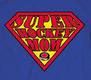 Pure Sport Hooded Sweatshirt: Super Hockey Mom