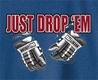 Pure Sport Hooded Hockey Sweatshirt: Just Drop Em