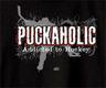 Pure Sport Hooded Hockey Sweatshirt: Puckaholic