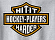 Pure Sport Hockey T-Shirt: Hit it Harder