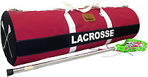 Canvas Custom Lacrosse Team Equipment Travel Bag (13