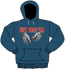Pure Sport Hooded Hockey Sweatshirt: Just Drop Em