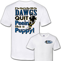 Hockey T-Shirt: Play With the Dogs