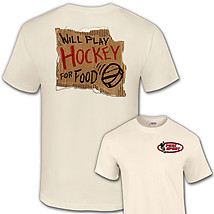 Hockey T-Shirt: Hockey For Food