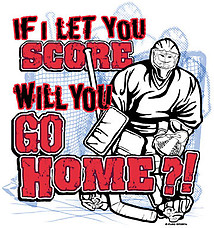 Hockey T-Shirt: Go Home
