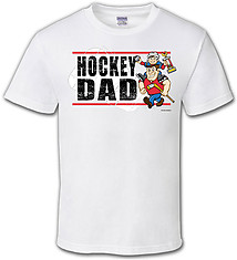 Hockey T-Shirt: Hockey Dad