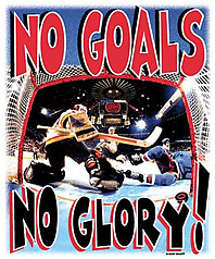 Pure Sport Hockey T-Shirt: No Goals No Glory