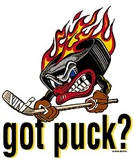 Hockey T-Shirt: Got Puck