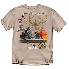 Coed Sportswear Hunting T-Shirt: It's All About Hunting