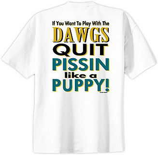 Pure Sport Baseball T-Shirt: Play with the Dawgs