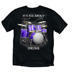 Coed Sportswear Drums T-Shirt: All About Drums