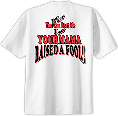 Pure Sport Baseball T-Shirt: Mama Raised a Fool