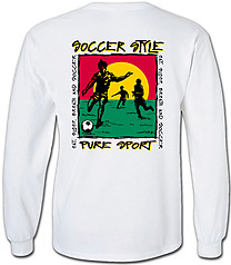 Pure Sport Long Sleeve Soccer T-Shirt: Soccer Style