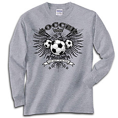 Pure Sport Long Sleeve Soccer T-Shirt: Freebird Soccer