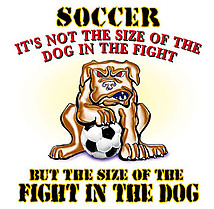 Soccer T-Shirt: Fight In The Dog