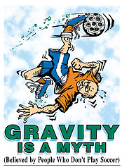 Pure Sport Soccer T-Shirt: Gravity