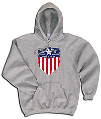 Pure Sport Hooded Soccer Sweatshirt: USA Soccer