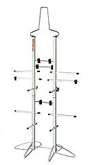 Wet Gear Sports Equipment Dryer Rack: Metal Locker Deluxe Model