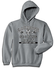 Hooded Lacrosse Sweatshirt: Lacrosse Athletic