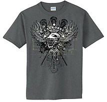 Lacrosse T-Shirt: Lacrosse Wings