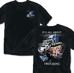 Coed Sportswear Trucking T-Shirt: All About Trucking