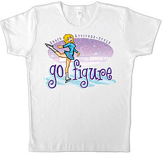 Pure Sport Figure Skating T-Shirt: Go Figure