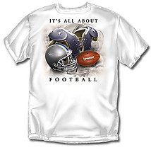 Football T-Shirt: All About Football