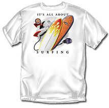 Surfing T-Shirt: All About Surfing