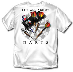 Coed Sportswear Darts T-Shirt: All About Darts