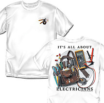 Electrician T-Shirt: All About Electricians