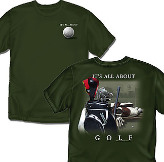 Coed Sportswear Golf T-Shirt: It's All About Golf