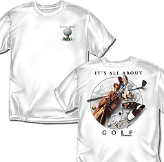 Coed Sportswear Golf T-Shirt: All About Golf