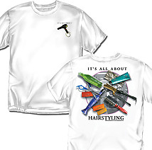 Hairstyling T-Shirt: All About Hairstyling