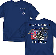 Coed Sportswear Hockey T-Shirt: It's All About Hockey