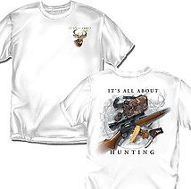 Hunting T-Shirt: All About Hunting