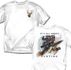 Coed Sportswear Hunting T-Shirt: All About Hunting