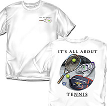 Tennis T-Shirt: All About Tennis