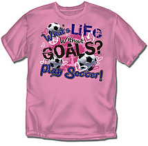 Youth Soccer T-Shirt: What is Life Soccer