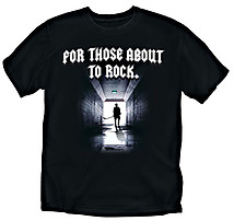 Hockey T-Shirt: For Those About to Rock