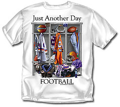 Coed Sportswear Football T-Shirt: Just Another Day Football