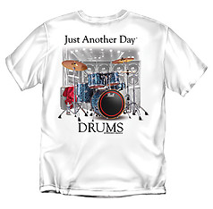 Coed Sportswear Drums T-Shirt: Just Another Day