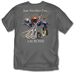 Coed Sportswear Lacrosse T-Shirt: Just Another Day