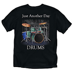 Coed Sportswear Drums T-Shirt: Just Another Day Drums