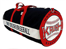 Canvas Custom Baseball/Softball Team Equipment Bag (15