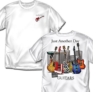 Coed Sportswear Guitar T-Shirt: Just Another Day