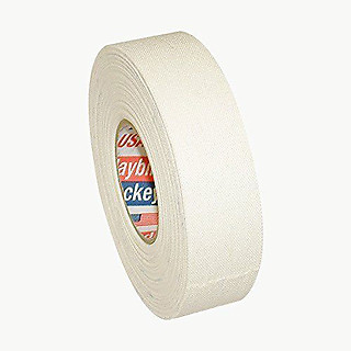 (SPlus) Hockey Tape: White Cotton Cloth, 1 inch x 10 yds.