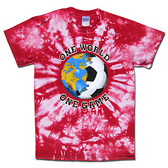 England World Cup Soccer One World Tie Dye T-Shirt