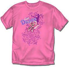 Coed Sportswear Youth Dance T-Shirt: Just Dance