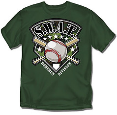 Coed Sportswear Youth Baseball T-Shirt: SWAT Baseball